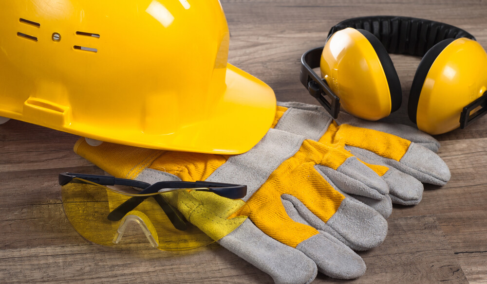 CITB Health & Safety Awareness PPE hat gloves