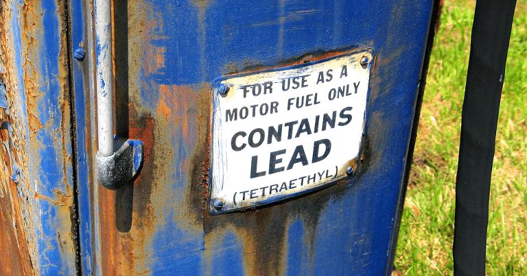 leaded petrol gasoline health & safety