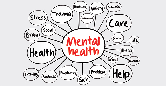 first aid for mental health thought bubbles
