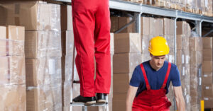 Two men working at height banner image