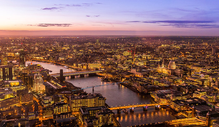 city of london river thames