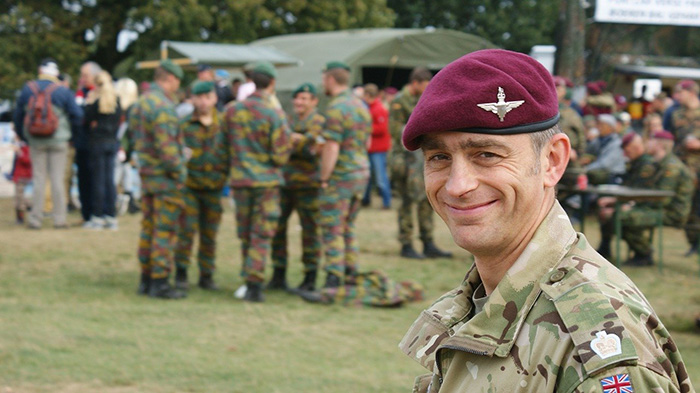 english soldier eligible for elcas training