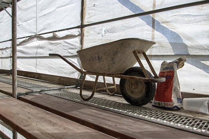 scaffolding gin wheel safety