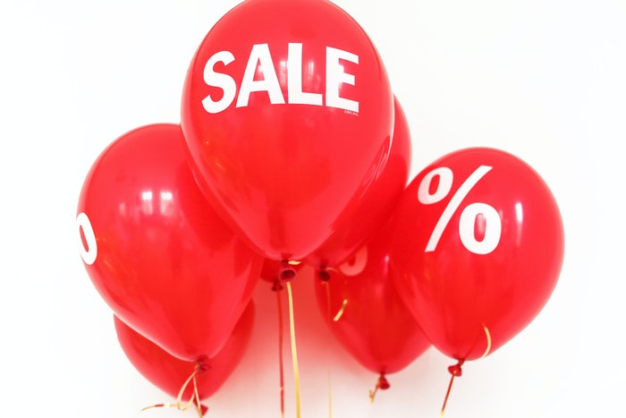 sale discount balloons