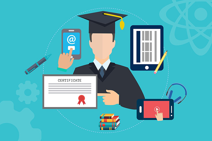 virtual courses remote learning header
