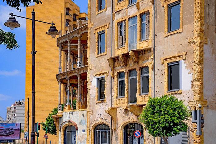 beirut lebanon building