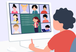 remote learning zoom call