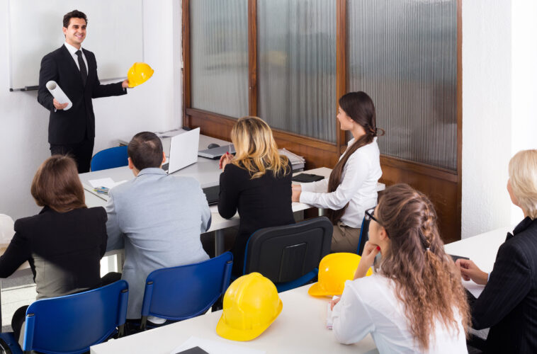 Construction classroom training